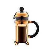 Bodum Chambord 3 Cup 0.35L Coffee Press Cafetiere, Copper