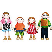 Santoys ST637 Flexible Doll Family