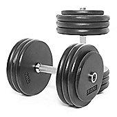 Body Power Pro-style Dumbbells 37.5kg (x2)