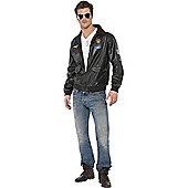 Top Gun Bomber - Adult Costume Size: 38-40