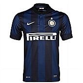 2013-14 Inter Milan Home Nike Football Shirt (Kids) - Black