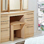 Welcome Furniture Sherwood Kneehole Dressing Table - Maple