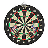 HARROWS Eric Bristow Family Dart Game Set Board + Darts