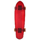 Globe Bantam Clear Cruiser - Red/Raw/Amber