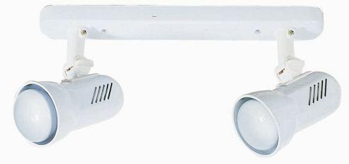 Faro Turbo Two Light Metal Regleta Ceiling Spot Light in