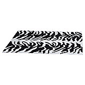 Ultimate Rug Co Aspire Tigre Cream / Black Contemporary Rug - 120cm x 170cm
