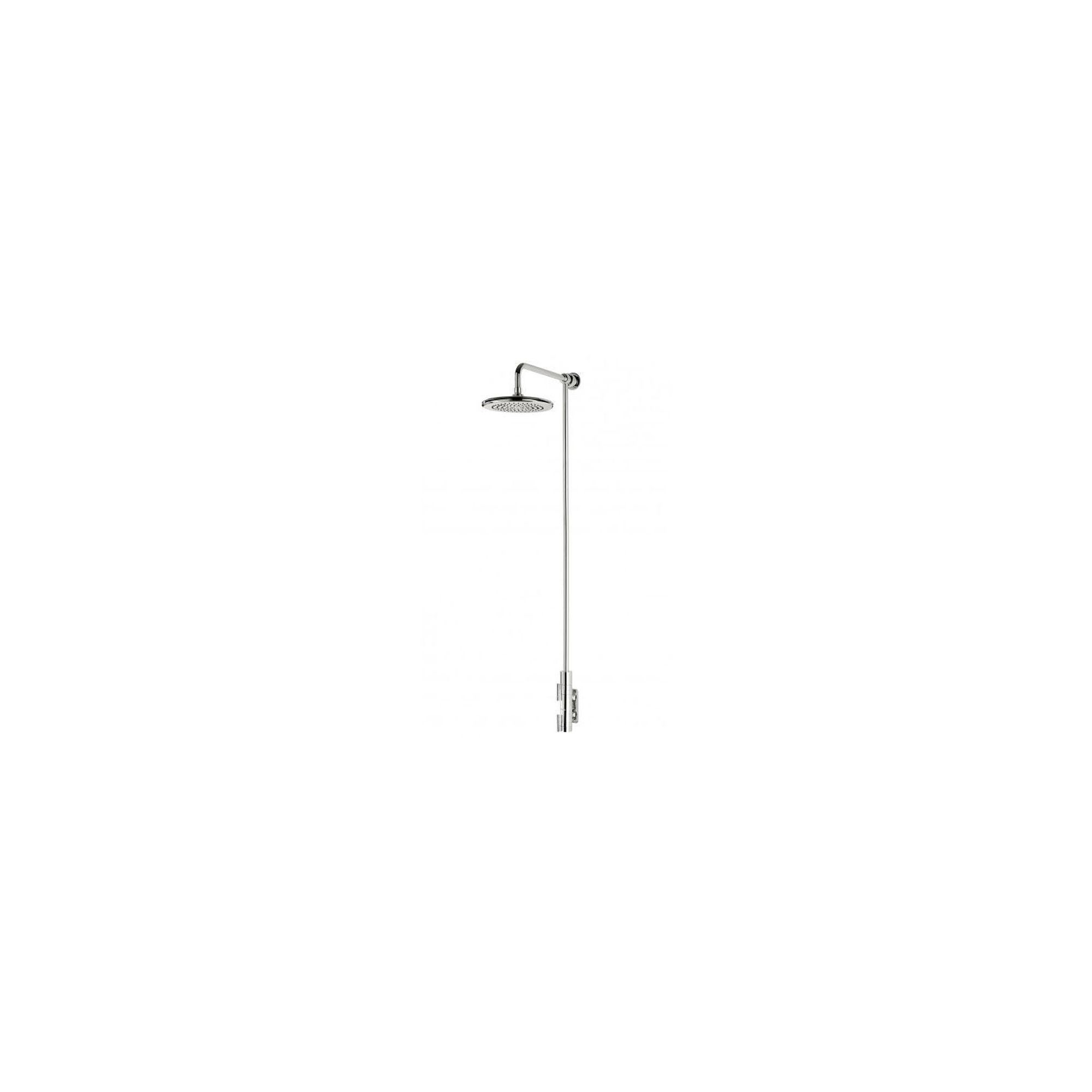 Triton Thames Vertical Thermostatic Bar Mixer with Fixed Showerhead Chrome at Tesco Direct