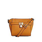 F&F Padlock Detail Cross-Body Bag
