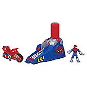PLAYSKOOL HEROES SPIDERMAN DELUXE LAUNCHER - Assortment – Colours & Styles May Vary