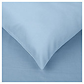 Tesco Housewife Pillowcase Breeze Blue Twinpack