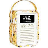 View Quest Emma Bridgewater Retro Mini DAB+/FM Radio with Bluetooth (Marmalade)