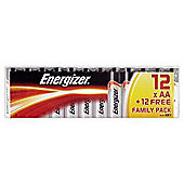 Energiser ENGAA1212 Aa Battery Pack 12 + 12 Foc