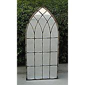 Bentley Garden Rustic Style Silver Mirror