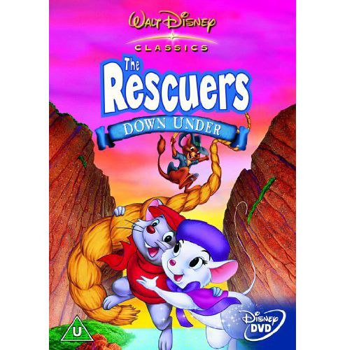 Disney: The Rescuers Down Under (DVD)