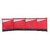Trail 5 Pole Camping Windbreak Red