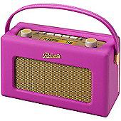 Roberts Revival RD60 DAB/FM Portable Radio (Hot pink)