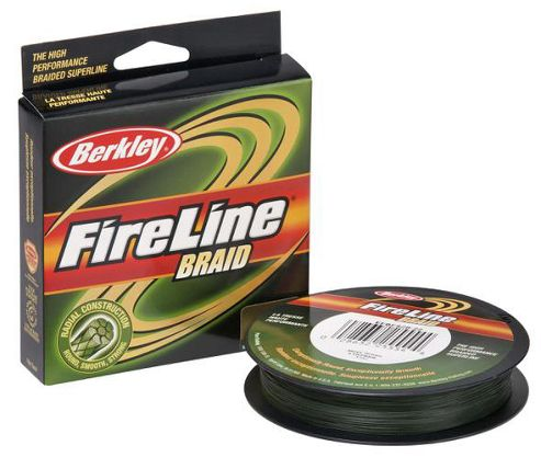 Berkley Fireline Braid Lo-Vis-Green FB30040-22 Superline 40lb, 0.30mm, 300yds