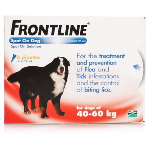 Frontline Spot On (Extra Large Dog 40-60kg) [6 pack]