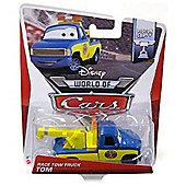 Disney Pixar Cars Die Cast Vehicle Race Tow Truck Tom