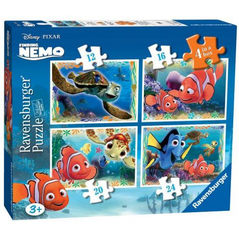 Ravensburger Finding Nemo 4 in a Box Jigsaw Puzzles
