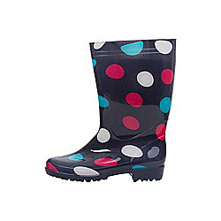 Rain Spot Womens Wellies ( Size: 6 )