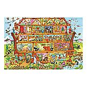Bigjigs Toys BJ014c Noah's Ark Floor Puzzle (96 Piece)