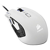 Corsair Vengeance M95 Performance MMO/RTS Laser Gaming Mouse (Arctic White)