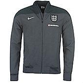 2014-15 England Nike Woven Jacket (Navy) - Kids - Navy