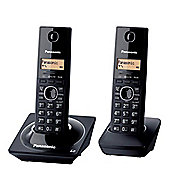 Panasonic KX-TG2712 Twin Cordless Phone - Black