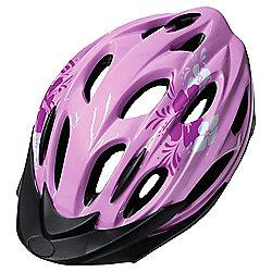 Activequipment Bike Helmet, Pink/White 54/58cm