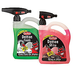 Demon Shine and Foam Twin Pack with Gun