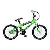 "Concept Zombie 18"" Kids' BMX Bike, Neon Green"
