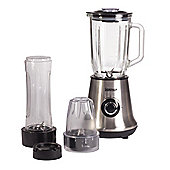 Igenix IG8330 450W 1 Litre 3 in 1 Jug Blender - Brushed Stainless Steel