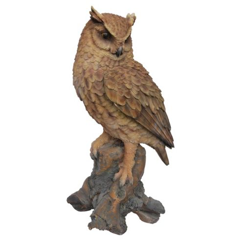 Real Life Long Eared Owl Ornament
