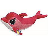"Ty Beanie Boo 6"" Plush - Pink Dolphin Surf"