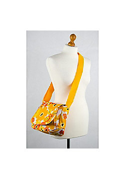 Okiedog Flower Power Genie Baby Changing Bag - Orange/Yellow