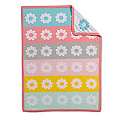 Mothercare Butterfly Fields Knitted Blanket