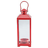 Tesco Lantern Red