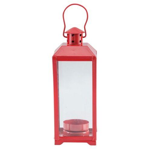 Tesco Lantern Red