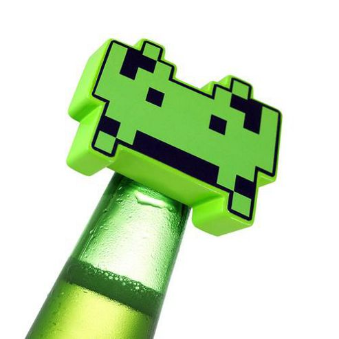Space Invader Bottle Opener