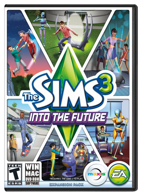 Sims 3 - Into The Future (PC)