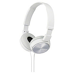 Sony MDR-ZX310 On-Ear Headphones - White