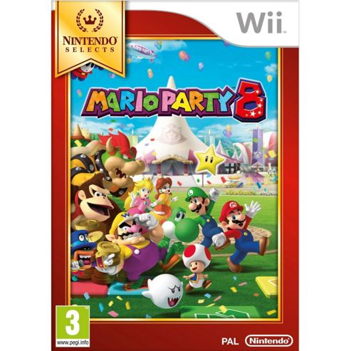 Mario Party 8 (Wii Selects)