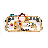 Brio Cargo Wooden Railway Deluxe Set in Tub