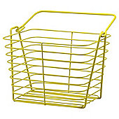 Tesco Yellow Wire Basket