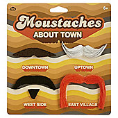 Moustaches About Town