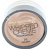 Max Factor Whipped Creme Foundation 18ml - Golden 75