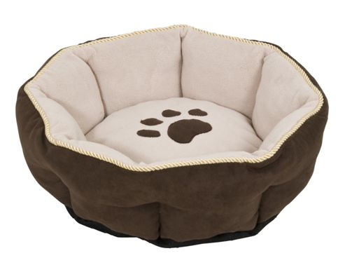 Petmate 18 Sculptured Round Dog Bed in Assorted