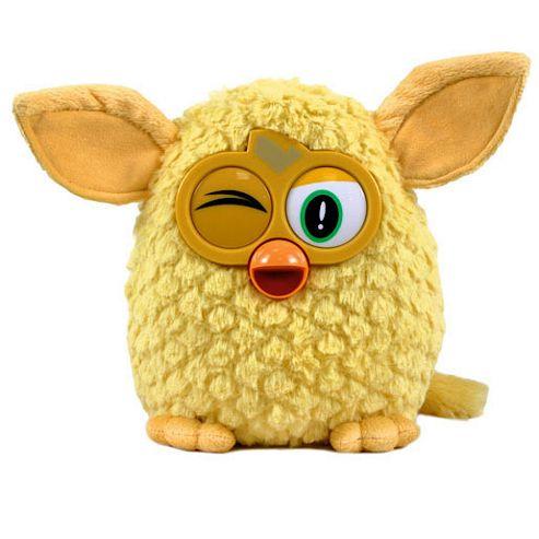 Furby 14cm Soft Toy - Yellow
