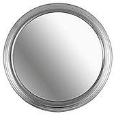 Porthole Mirror Silver